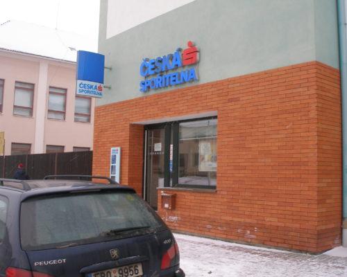 Silnoproudá elektroinstalace – Česká spořitelna (Velké Bílovice)