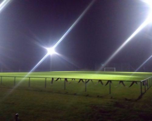 LED osvětlení fotbalové hřiště - TJ Slavoj Velké Pavlovice