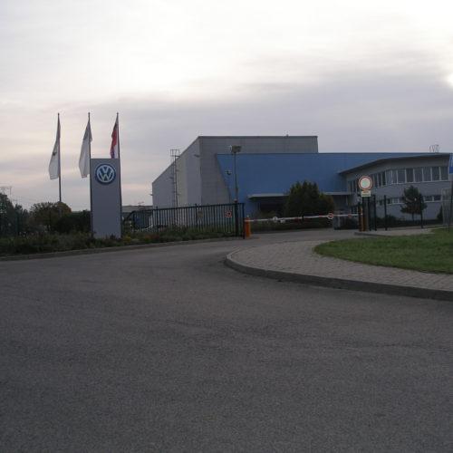 Měření a regulace - VW Stupava (Slovensko)