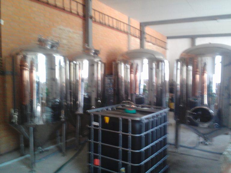 Elektroinstalace pro pivovarnickou technologii