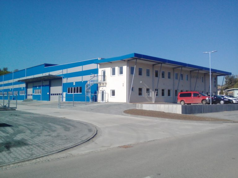 Kompletní elektroinstalace s hromosvodem – Kovo Staněk, s.r.o. (Klobouky u Brna)