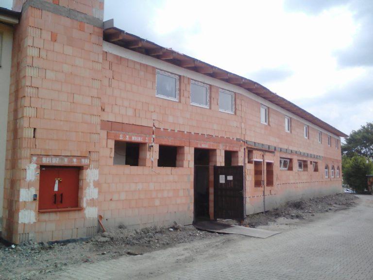 Přístavba se slaboproudem – Hotel Zámeček (Mikulov)
