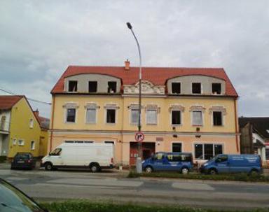 Silnoproudá elektroinstalace – Bytový dům (Hustopeče u Brna)