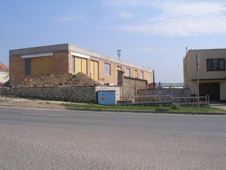 Silnoproudá elektroinstalace – Ekocentrum Trkmanka (Velké Pavlovice)