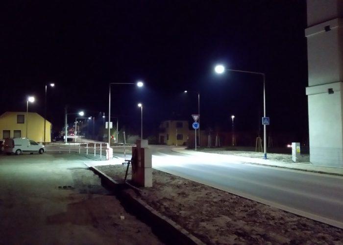 Veřejné LED osvětlení – Strabag (Velké Pavlovice)